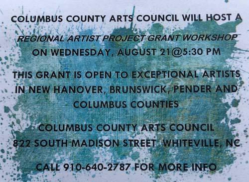 Columbus County Arts Council - Events